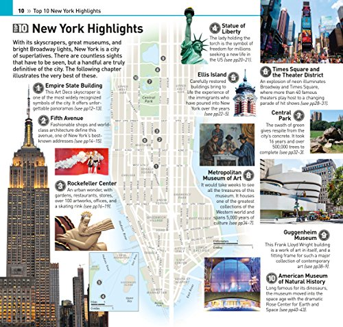 New York City. Top 10 Eyewitness Travel Guide (Eyewitness Top 10)