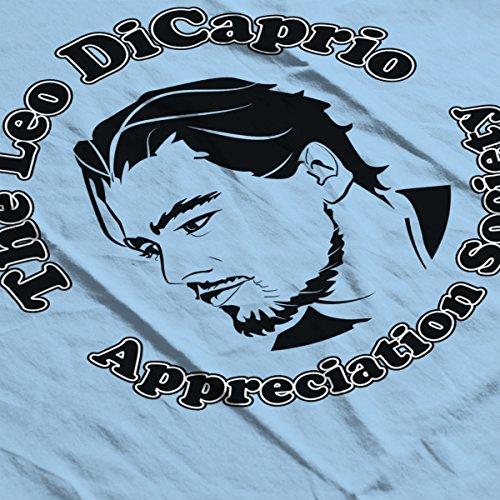 The Le Dicaprio Appreciation Society Men's Hooded Sweatshirt Sky Blue