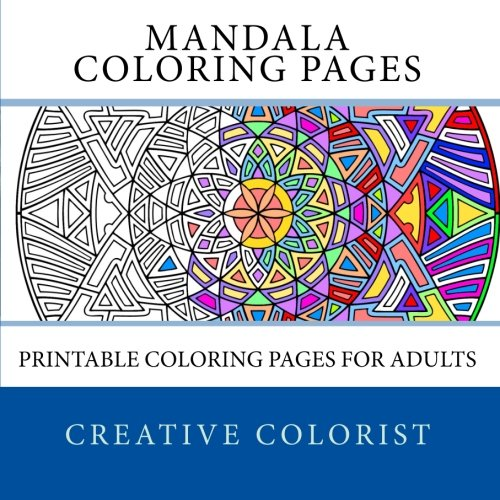 Mandala Coloring Pages: Printable Coloring Pages for Adults
