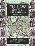 EU Law: Text, Cases, and Materials