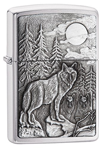 Timberwolves Emblem Brushed Chrome