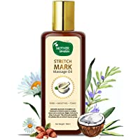 Mother Sparsh Natural Stretch Oil, 14 Herbal Oils - Kachur, Jiwanti, Peepal and Nariyala, 100ml