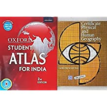Oxford Student Atlas 2nd Edition with CD + Certificate Physical and Human Geography (2 Books Set)