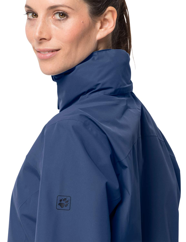 61HrrOQ%2BwqL - Jack Wolfskin Women's Evandale Hardshell Jacket
