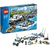 LEGO City 60045 - Polizei-Boot-Transporter