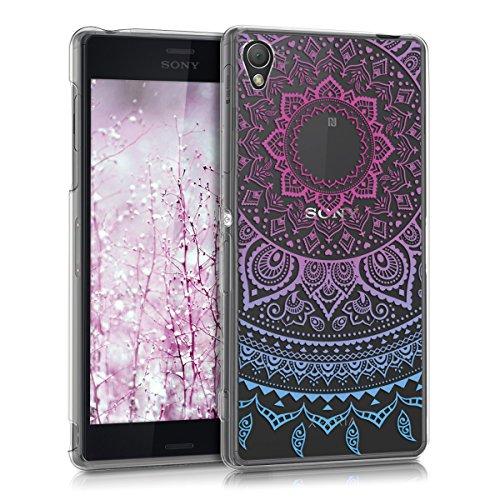 55c8dbd695f kwmobile Funda para Sony Xperia Z3 - Carcasa de [TPU] para móvil y diseño