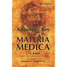 A SYNOPTIC KEY OF THE MAT MED (English Edition)