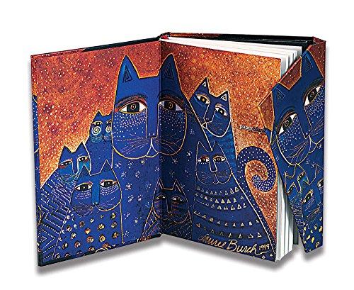 Mediterranean Cats Midi Lined Journal (Smythe Sewn Laurel Burch)