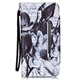 Nancen Apple iPhone 6 Plus / 6S Plus (5,5 Zoll) Leder Hülle/Case. Verbesserte Version Stabil Rechteck Magnetverschluss Design - PU Flip-Case Lederhülle Handyhülle Brieftasche Tasche