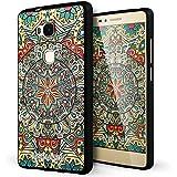 Huawei Honor 5x Funda,Lizimandu 3D Patrón Protectiva Carcasa de Silicona Gel TPU estrecha Case Cover Para huawei honor5x(Mystic compass)