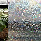 Verre Static Decorative Frosted Window Glass film-ML018 (90cms x140cms)
