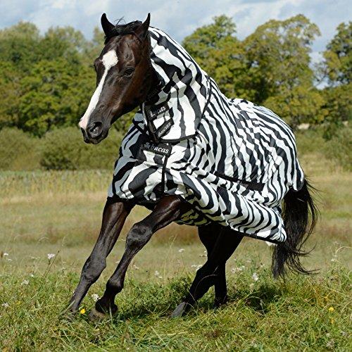 Bucas Sweet-itch Full-Neck - zebra, Groesse:125 Cover Zebra-snap