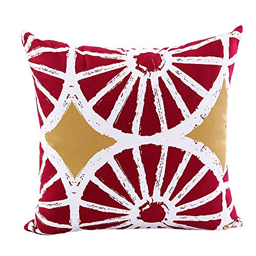 Home Decor PillowAYvelands Natale Cuscini, Cotone, Media Durezza, Anallergico e Antiacaro, Traspirante