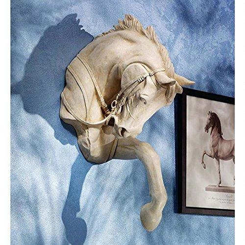 Design Toscano Der Vollblüter, Hochrelief-Wandfigur