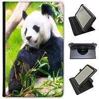 Panda Universale Custodia a Libro in finta