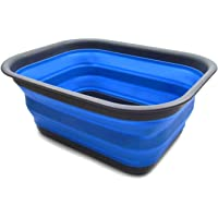 SAMMART 15L Collapsible Tub - Portable Outdoor Picnic Basket/Crater - Foldable Shopping Bag - Space Saving Storage…