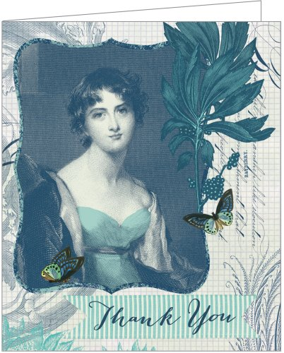 The Blue Lady Greenthanks: Eco Boxed Thank You Cards