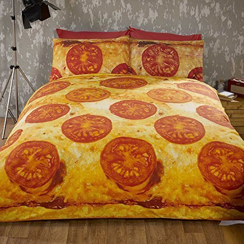 pizza-double-bed-quilt-duvet-cover-and-2-pillowcase-bedding-bed-set-novelty-funky-food