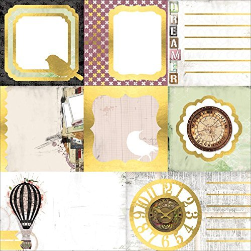 Bo Bunny 12x12 Paper (Bo Bunny 19401344 Beautiful Dreamer Vellum Paper (12 Pack), 12 x 12, Multicolor by Bo Bunny)