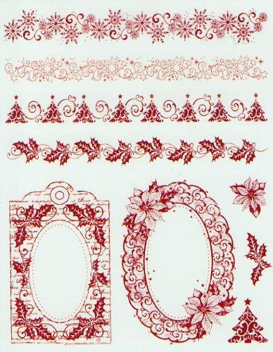 silicone-timbro-d9-christmas-borders-e-telaio-14-x-18-cm-senza-blocco-acrilico-in-blister-con-insert