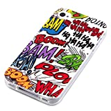 deinPhone Apple iPhone 4 4S Silikon Hülle Case Comic Boom