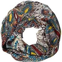 ManuMar Loop-Schal für Damen   feines Hals-Tuch mit Motiv   Schlauch-Schal - Das ideale Geschenk für Frauen