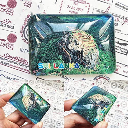nk Kühlschrankmagnet Stadt Welt Kristall Glas Handgemachte Tourist Travel Souvenir Collection Starke Wort Brief Aufkleber Kinder ()
