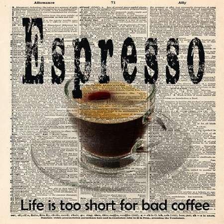 Feeling at Home Feelingathome-Leinwand-Bild-ESPRESSO-cm57x57-Kunstdruck-auf-Leinwand - Espresso Leinwand