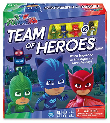 Ravensburger PJMasks Team of Heroes Game