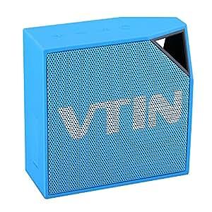 VTIN Cuber 5W Altoparlante Bluetooth 4.0 + A2DP da Esterno Wireless Portatile Impermeabile IP67 Ricaricabile Antipolvere Stereo Mni Altoparlante / Speaker da Doccia Vivavoce con Incoporato Microfono di Cancellazione Rumore per iPhone 6S/6S Plus/6 Plus/SE/6/5S/5C, Galaxy S7/S7 Edge/S6/S5/S4 Note 4/3/2, HTC One M8 Sony Experia Z1 Z2 Z3 Huawei Xiaomi e Tutti i Dispositivi Bluetooth, Blu