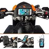 UltimateAddons - Soporte de motocicleta y cinta + resistente impermeable para Apple iPhone 6 4.7