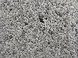 Natursteinteppich-Fliese Classic Line Nebelgrau - flexible Bodenfliese für Innen und Außen aus italienischem Marmorkies, Teppichfliese, Marmorteppich, Terassenboden, Poolumrandung - 1m² Paket (4 Stück 50x50 cm)