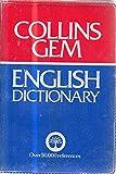English dictionary (Gem dictionary)
