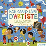 Best Livres pour les artistes - MON GRAND LIVRE D'ARTISTE - NOUVELLE EDITION Review