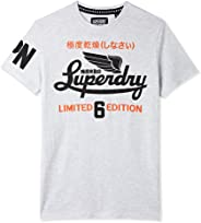 Superdry-M10038XOF2 T-Shirt for Men - Ice Marl