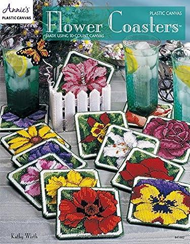 Plastic Canvas Flower Coasters (Annie's Plastic Canvas)