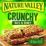 Nature Valley Crunchy Oats and Honey Granola Bars, 10 Bars, 5 x 42 g