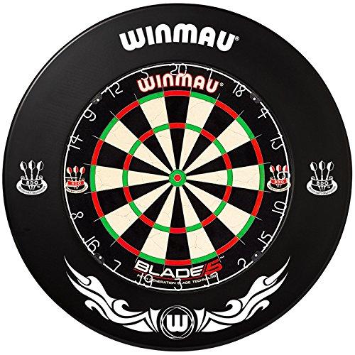 Winmau Dartboard Blade 5 Tunierdartscheibe mit Winmau Surround (Xtreme 1)