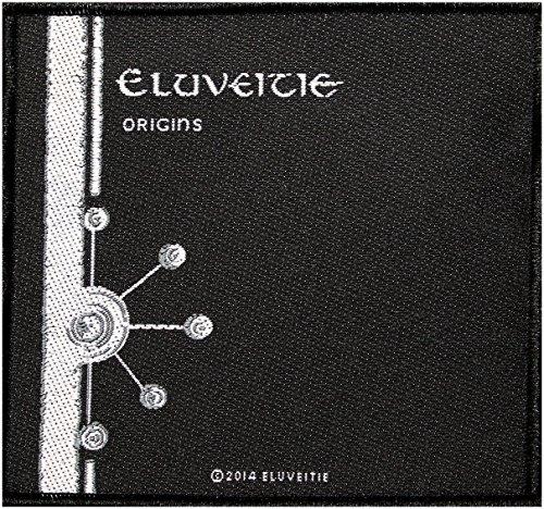 ELUVEITIE Origins toppa in tessuto 10x 9,5cm