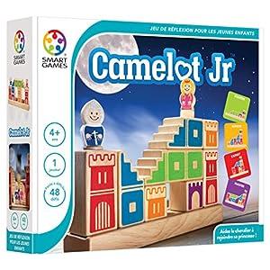 SmartGames Camelot JR. Child Niño/niña – Juegos educativos (Multicolor, Child, Niño/niña, 4 año(s), 9 año(s), 48 Pieza(s))