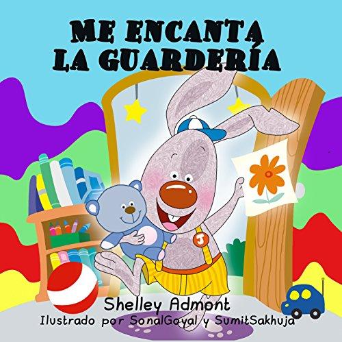 Me encanta la guardería  (Spanish Bedtime Collection) por Shelley Admont
