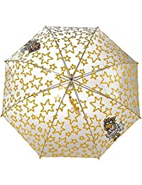 Paraguas kukuxumusu transparente estrellas