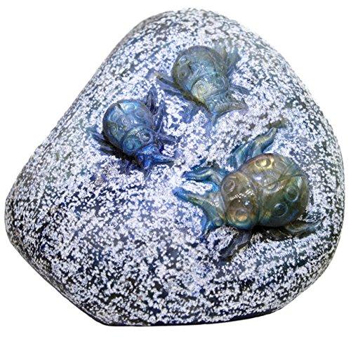 NATURSTON Handgefertigt Marienkäfer-Skulptur Auf Stein Carving Käfer Figur Natürliche Labradorit Boys Geschenk (Amerikanische Käfer)