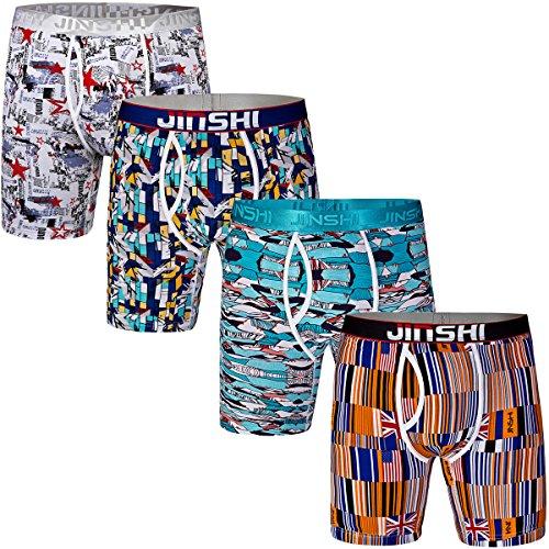 jinshi-mens-4-pack-comfort-flex-bamboo-trunks-active-long-leg-performance-boxer-briefs-size-xl
