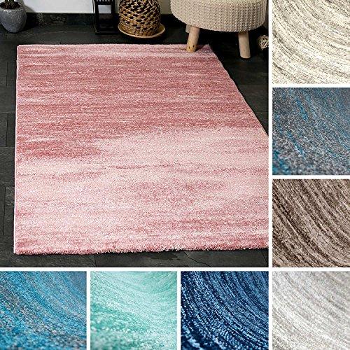 teppich kurzflor wohnzimmer meliert mehrfarbig beige braun t rkis grau blau t rkis grau. Black Bedroom Furniture Sets. Home Design Ideas