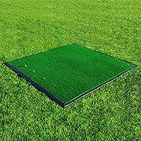 Alfombra de Práctica de Golf Net World Sports Forb Driving Range (150 cm X 150 Cm) (Base de Goma Opcional) - Alfombra Fairway Profesional de Primera Calidad,UNA,Un tamaño
