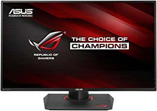 Asus ROG SWIFT PG279Q Gaming Monitor, 27'' WQHD 2560 x 1440 IPS, fino a 165 Hz, DP, HDMI, USB 3.0, G-SYNC