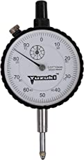YUZUKI Dial Gauge, 0.01x10 mm