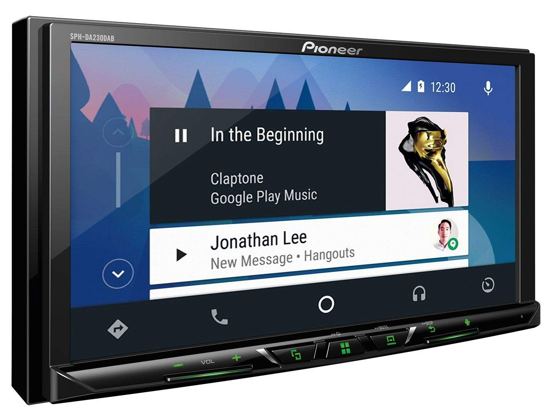 caraudio24-Pioneer-SPH-DA230DAB-MP3-Bluetooth-USB-2DIN-DAB-Autoradio-fr-Skoda-Fabia-Octavia-II-Rapid-Roomster