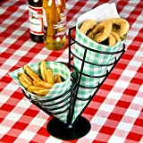 Double Cone Chip Basket - Appetiser Cone...